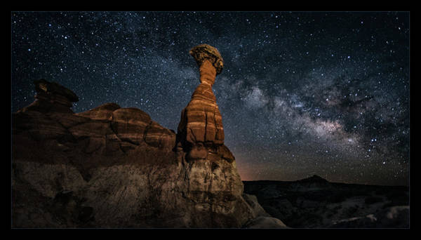 Wall Art - Photograph - Escalante Night by Robert Fawcett