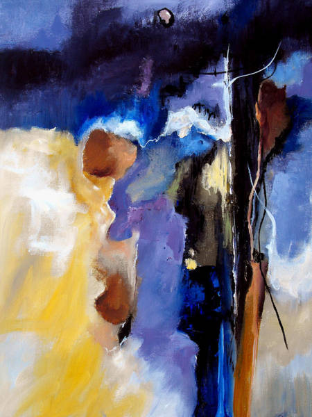 Irregular Painting - Escape Attempt by Ruth Palmer