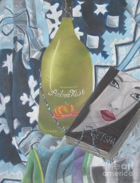 Geisha Mixed Media - Escape by Danielle Paredi