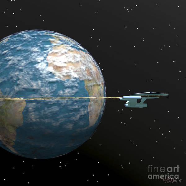 Digital Art - Escape Velocity by Walter Neal