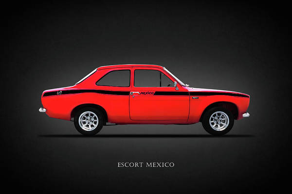 Rally Photograph - Escort Mexico Mk1 by Mark Rogan