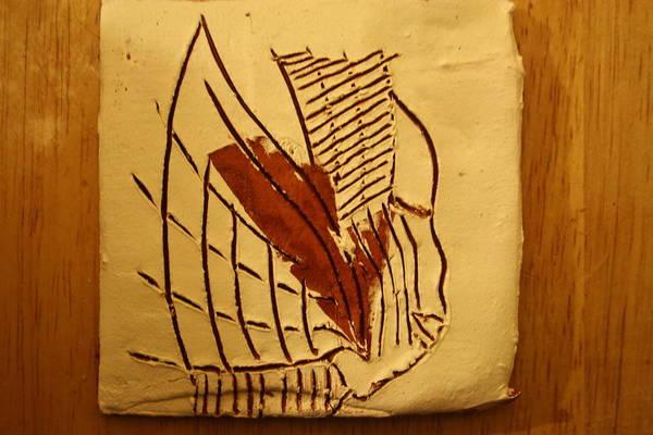 Ceramic Art - Esita - Tile by Gloria Ssali