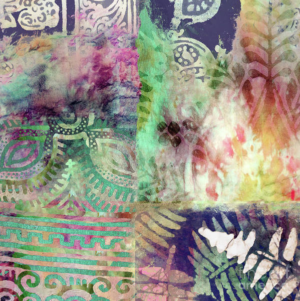 Dye Painting - Esme I by Mindy Sommers