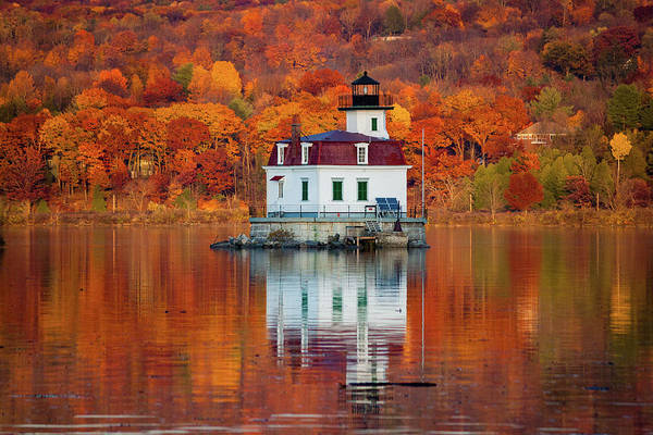 Photograph - Esopus Lighthouse In Late Fall #3 by Jeff Severson