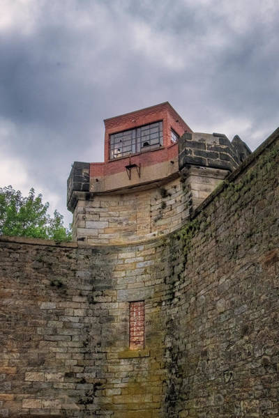 Photograph - Esp Guard Tower by Tom Singleton
