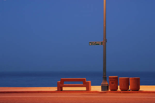 Negative Space Photograph - Esplanade by Kevin Bergen