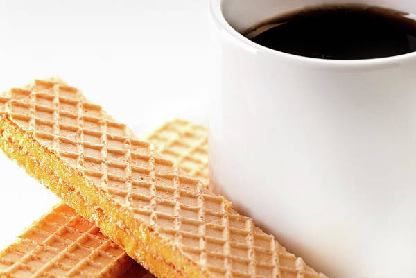 Photograph - Espresso And Lemon Wafer by  Onyonet  Photo Studios