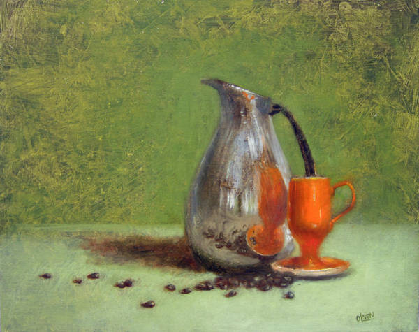 Wall Art - Painting - Espresso by Christy Olsen