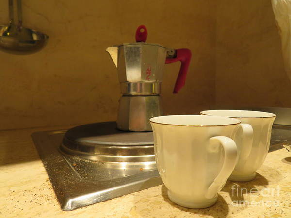 Photograph - Espresso For Two by Laurie Morgan