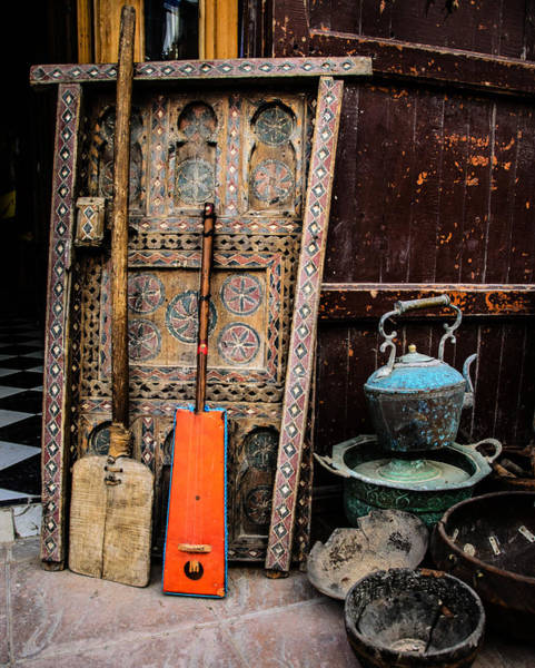 Morocco Wall Art - Photograph - Essauoira Treasures by Marion McCristall
