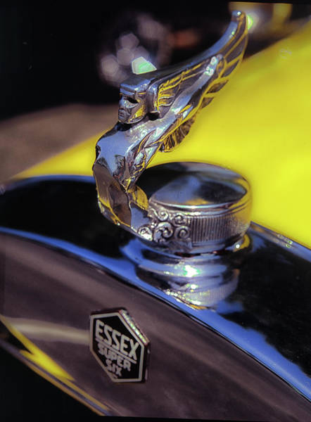 Photograph - Essex Super 6 Hood Ornament by Samuel M Purvis III