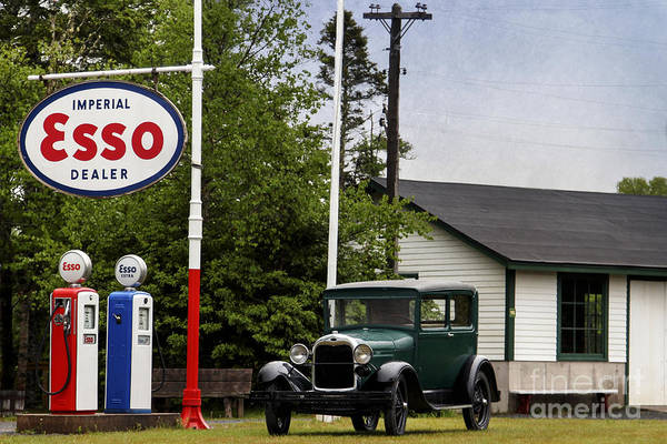 Photograph - Esso by Karin Pinkham