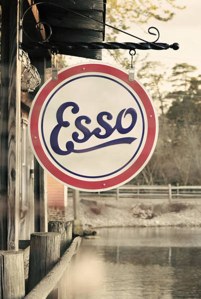 Photograph - Esso Sign Vintage by Terry DeLuco