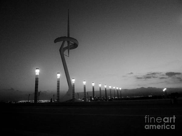 Photograph - Estadi Olimpic De Montjuic / Barcelona by Karina Plachetka