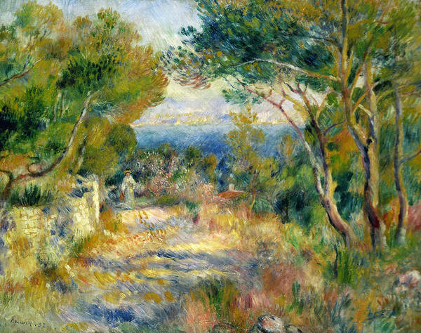 Wall Art - Painting - Estaque by Renoir