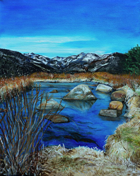 Painting - Estes Park  by Kathy Knopp