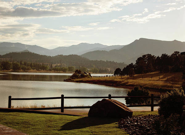 Photograph - Estes Park Resort by Sue Collura