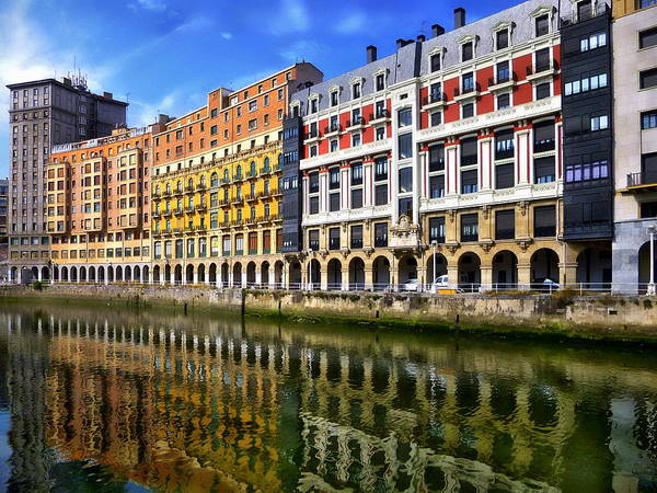 Photograph - Estuary Of Bilbao by Anthony Dezenzio