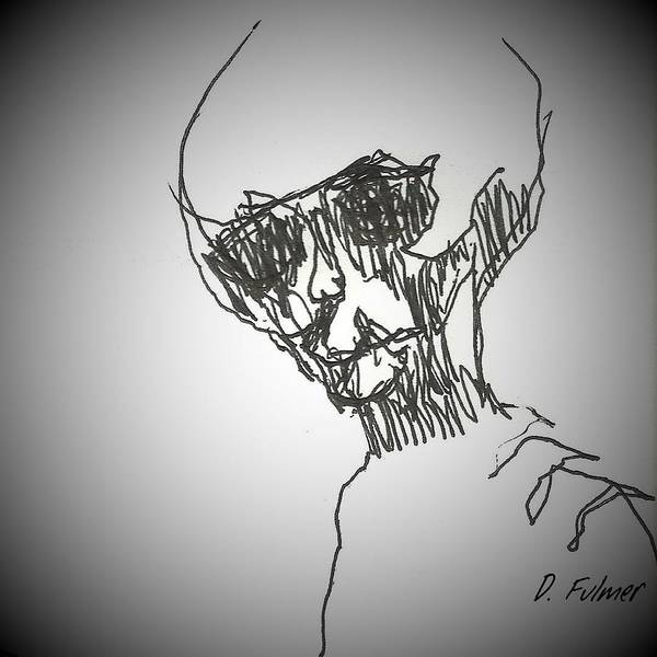Drawing - E T 3 by Denise F Fulmer