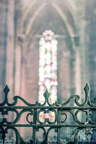 Stained Glass Wall Art - Photograph - Eternal Light by Evelina Kremsdorf