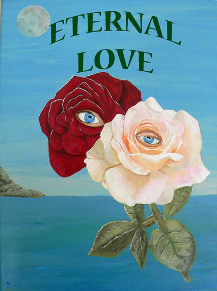 Painting - Eternal Love by Eric Kempson