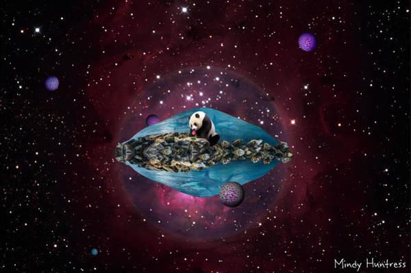 Space Mixed Media - Eternal Optimist by Mindy Huntress