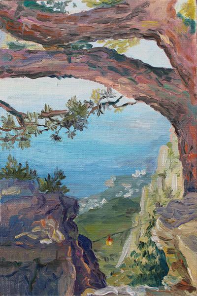 Painting - Eternal View. Ai-petri Crimea by Alina Malykhina
