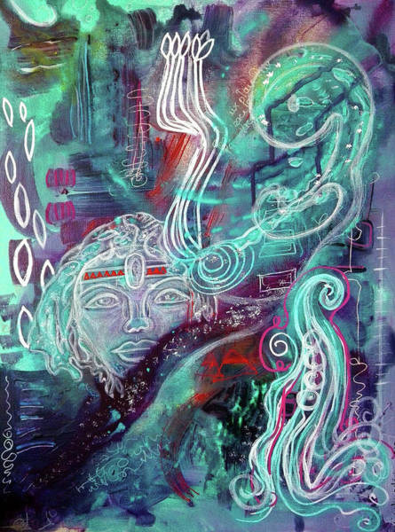 Mixed Media - Eternal Woman by Mimulux patricia No