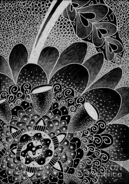 Digital Art - Eternally - Inverted by Helena Tiainen