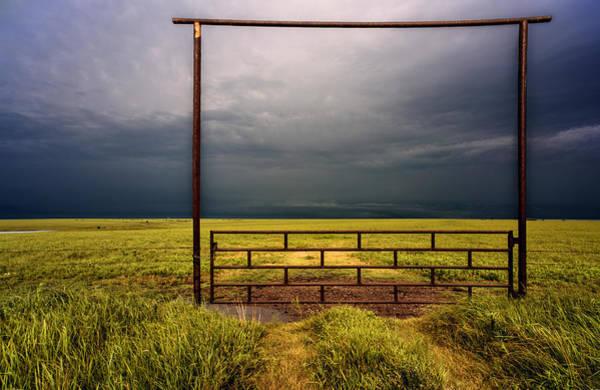 Flint Hills Photograph - Eternity by Don Spenner