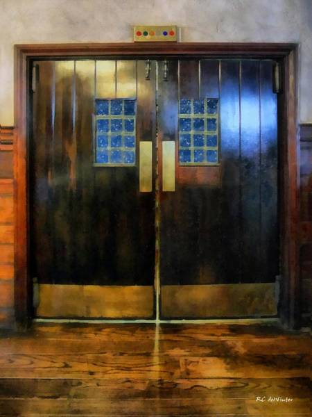 Painting - Eternity's Elevator by RC DeWinter
