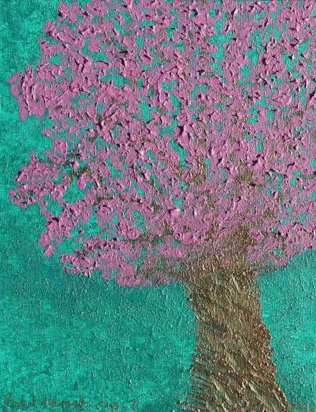Painting - Ethereal Blessing Tree by Rachel Hannah