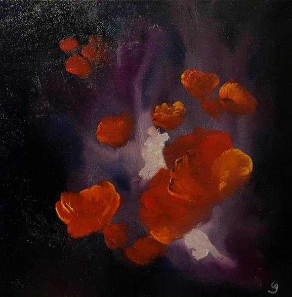 Painting - Ethereal Poppies                     81 by Cheryl Nancy Ann Gordon