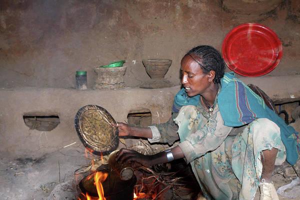 Photograph - Ethiopian Coffee Ceremony by Aidan Moran