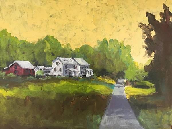 Wall Art - Painting - Ethridge by Susan Elizabeth Jones