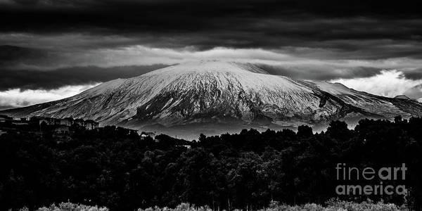 Etna, The West Side Art Print