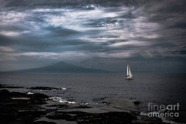 Photograph - Etna View From Sea 2 by Bruno Spagnolo