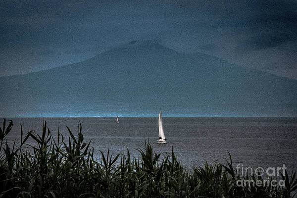 Photograph - Etna View From Sea by Bruno Spagnolo