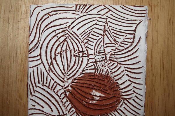 Ceramic Art - Eto - Tile by Gloria Ssali