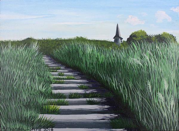 Painting - Etretat by Amanda Lynne