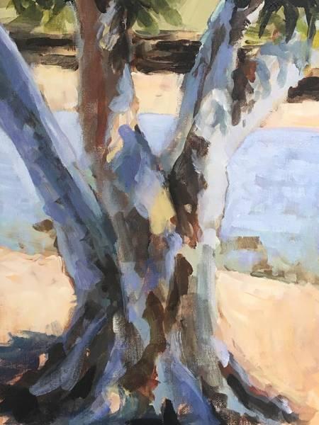 Wall Art - Painting - Eucalyptus Tree by Susan Elizabeth Jones