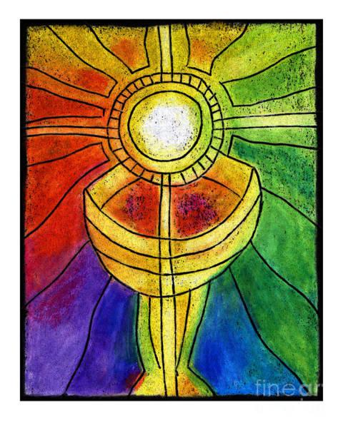Painting - Eucharist - Jleuc by Julie Lonneman