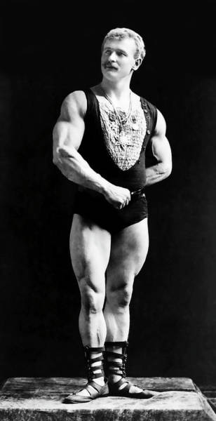 Wall Art - Photograph - Eugen Sandow - Father Of Bodybuilding  1893 by Daniel Hagerman