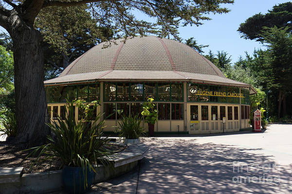 Eugene Friend Carousel At The San Francisco Zoo San Francisco California Dsc6328 Art Print
