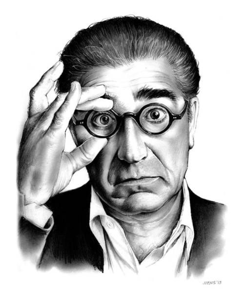 Actor Drawing - Eugene Levy by Greg Joens