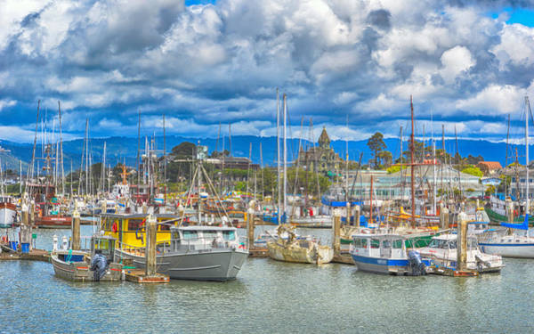 Photograph - Eureka Harbor by AJ Schibig