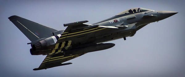 Fighter Jets Photograph - Eurofighter by Martin Newman