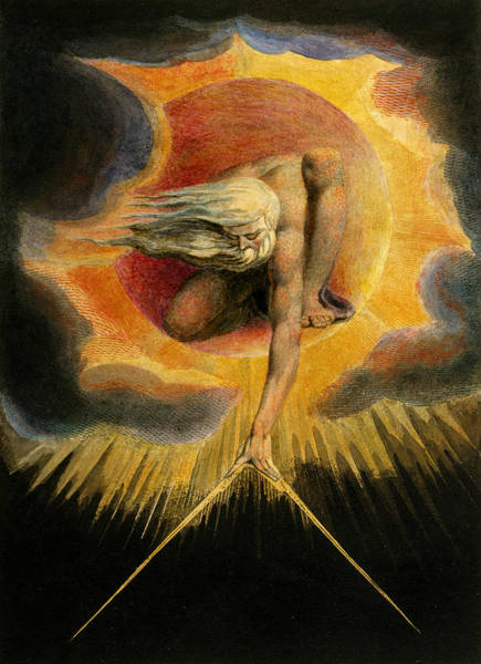 Relief - Europe A Prophecy by William Blake