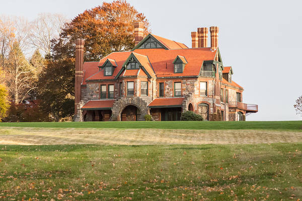 Photograph - Eustis Estate In Milton by Brian MacLean