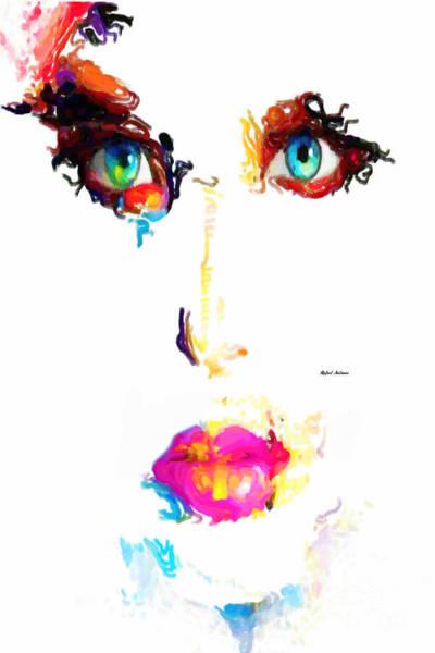Digital Art - Eva by Rafael Salazar